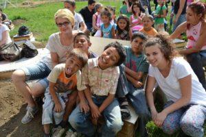 BAGázs gyerekek és önkéntesek